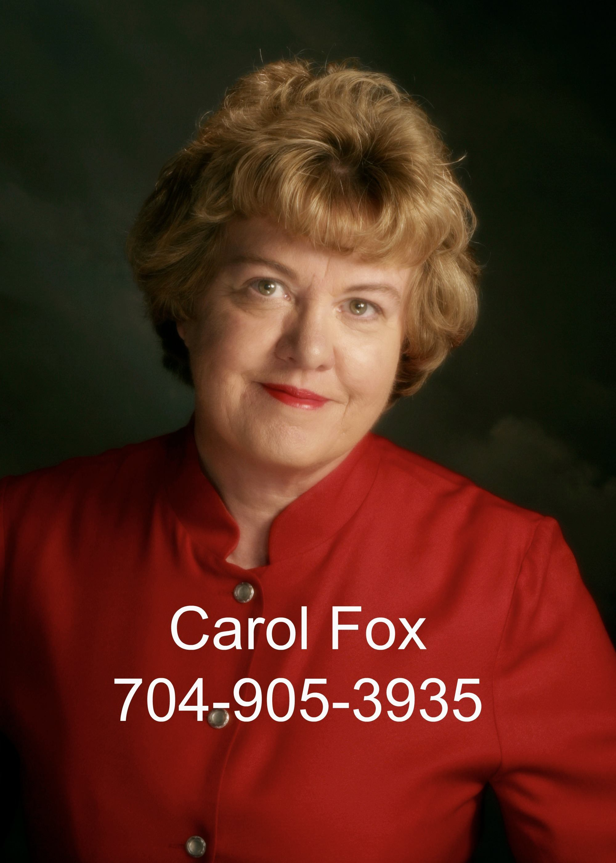 Carol Fox, Matthews NC Real Estate Agent