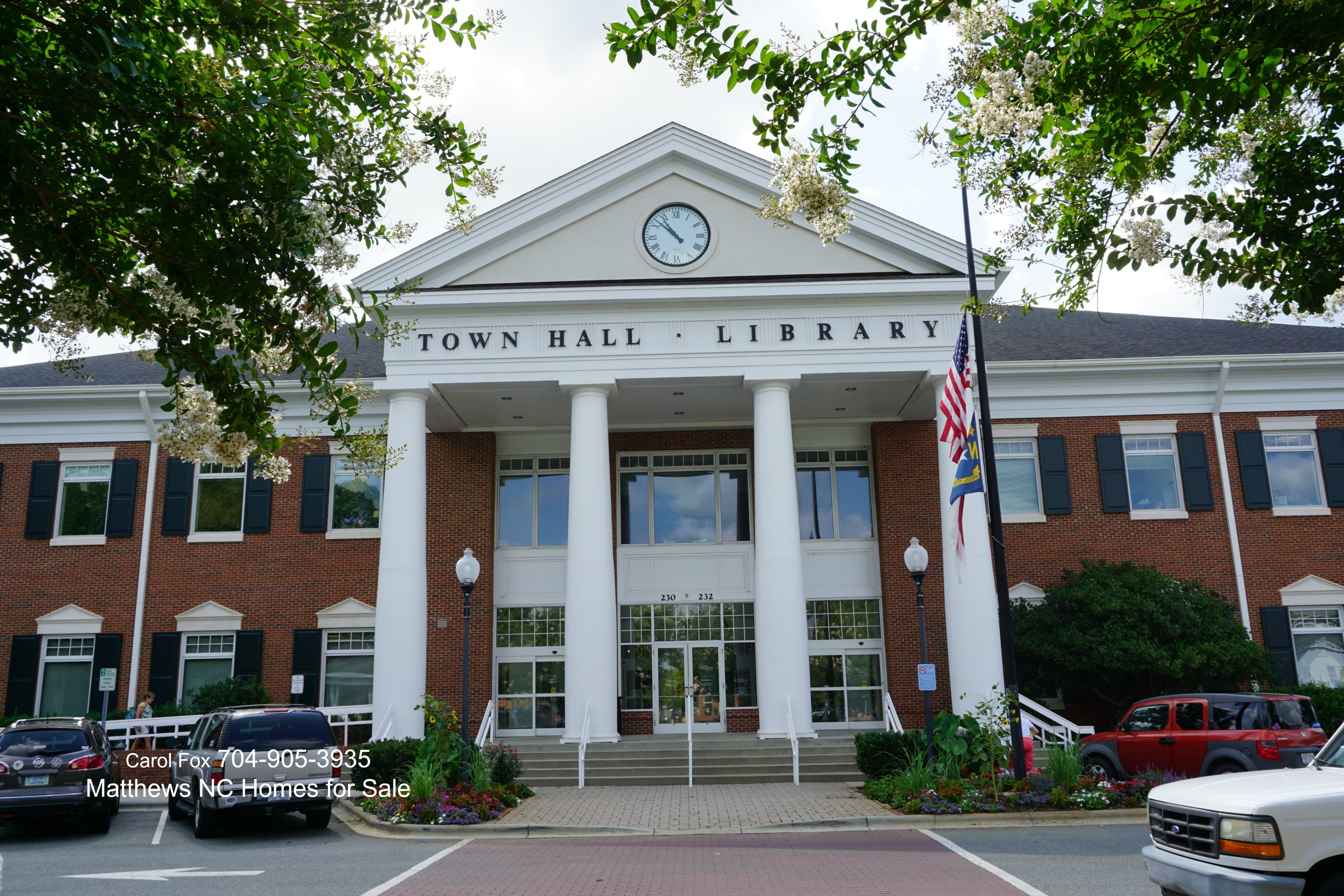 Matthews Town Hall and Library