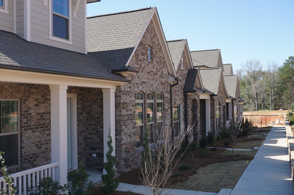 Active Adult 55+ townhomes in Matthews NC