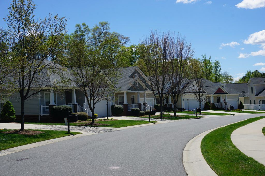 active adult communities nc