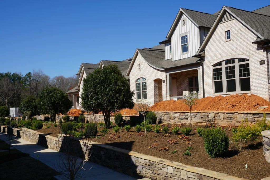 Patio homes in Matthews NC